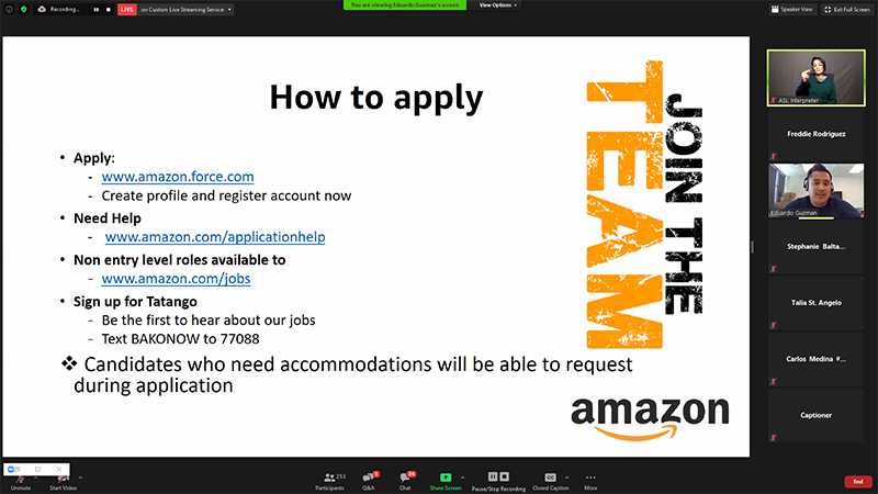 How to apply with the above liks and Candidates who need accommodations will be able to request during applicaation.