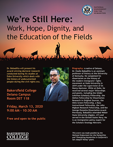 We're Still Here poster; click for PDF.
