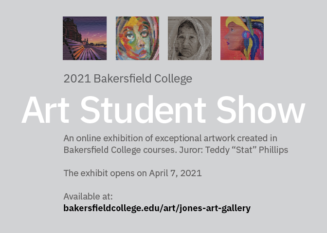 Art Student Show for the Online Exhibition of Exceptional Artwork