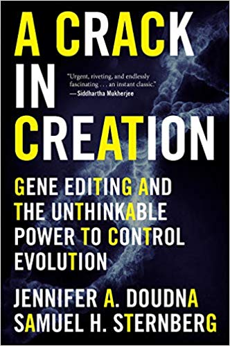 A Crack in Creation book cover.