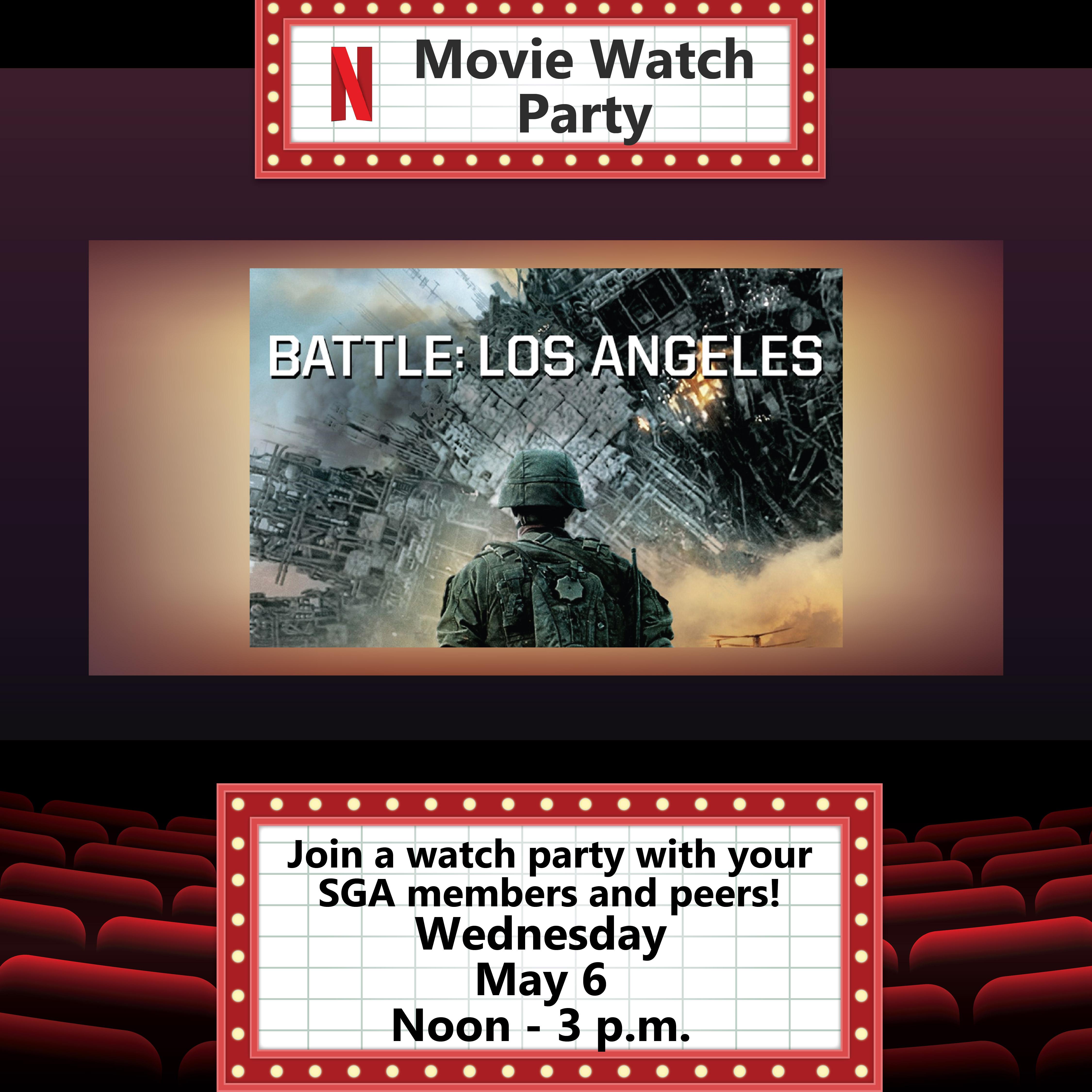 Battle Los Angeles Netflix Party