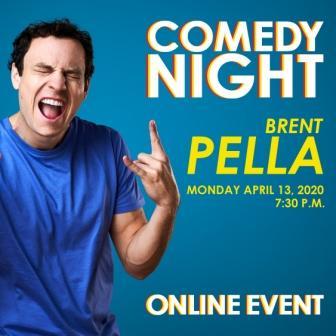 Image of Comedian Brent Pella