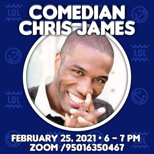 Comedian Chris James