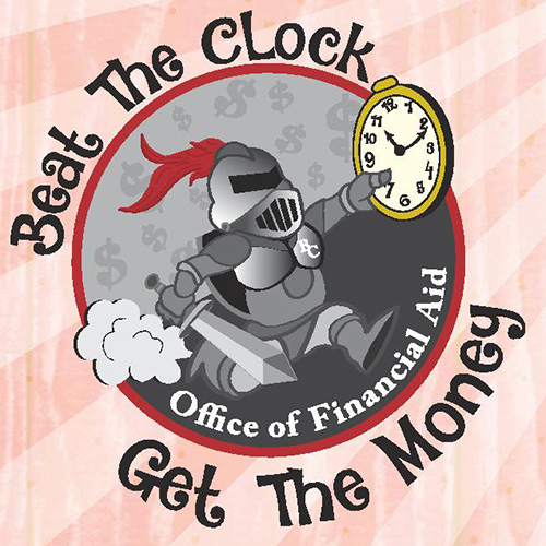Beat the Clock. Get the Money. Office of Financial Aid.