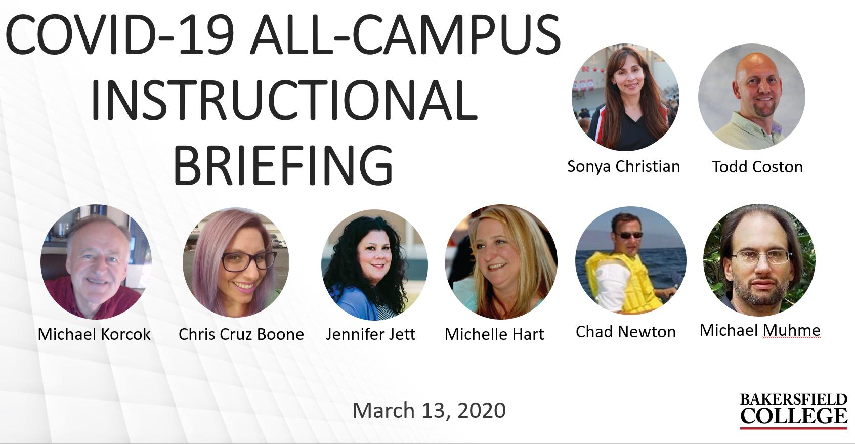 Image showing forum speakers including Sonya Christian, Todd Coston, Michael Korcok, Chris Cruz Boone, Jennifer Jett,  Michelle Hart, Chad Newton and Michael Muhme