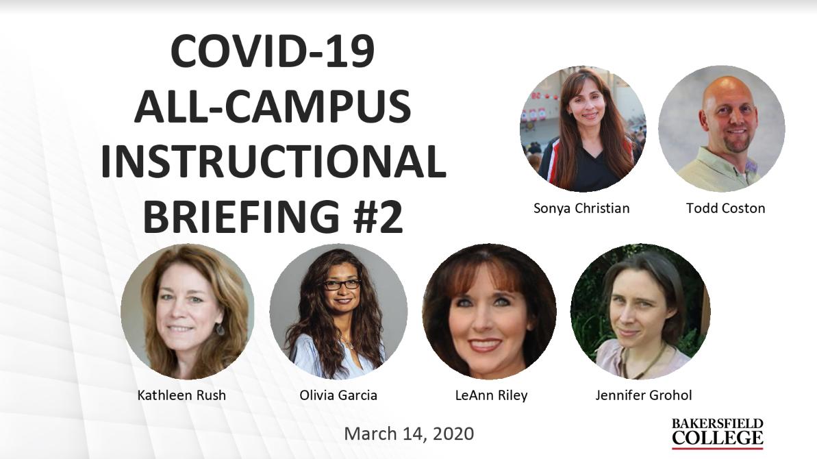 Image showing forum speakers including Sonya Christian, Todd Coston, Kathleen Rush, Olivia Garcia, Leann Riley, and Jennifer Grohol