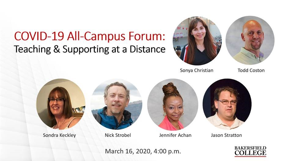 Image showing forum speakers including Sonya Christian, Todd Coston, Sondra Keckley, Nick Strobel, Jennifer Achan and Jason Stratton