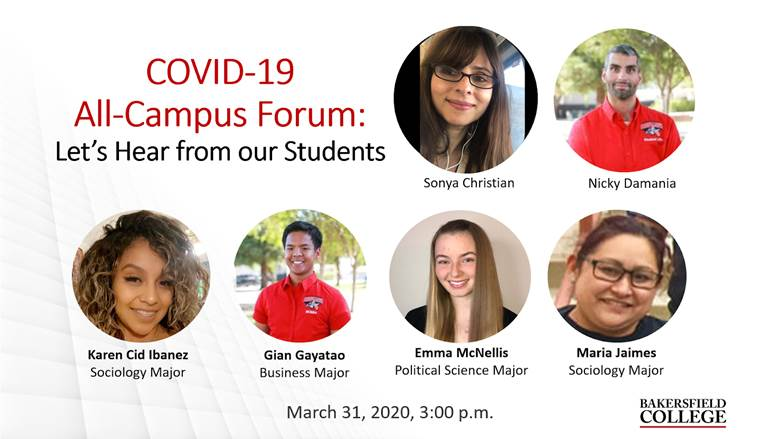 Image showing speakers at March 31 forum: Sonya Christian, Nicky Damania, Karen Cid Ibanez, Gian Gayatao, Emma McNellia, Maria Jaimes