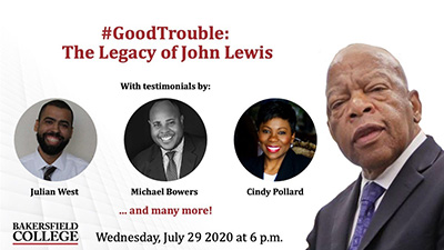 #GoodTrouble: The Legacy of John Lewis with testimonials by Julian West, Michael Bowers, Cindy Pollard and many more!