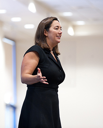 Erin Gruwell speaking.