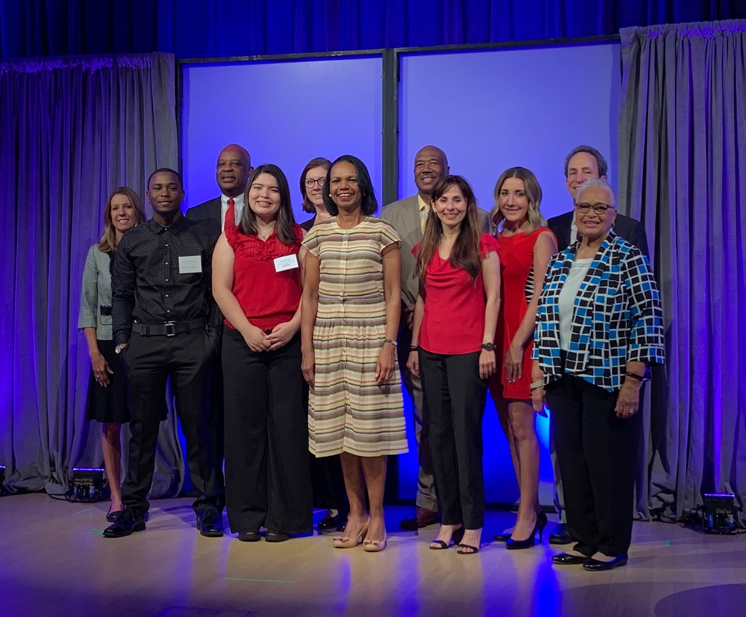 Bakersfield College delegation receives the 2019 Dr. John W. Rice Diversity and Equity Award