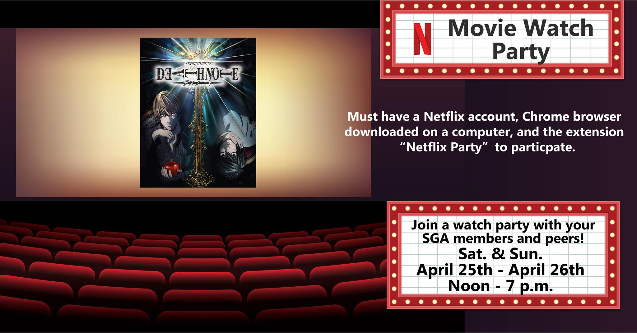 Death Note Watch Party