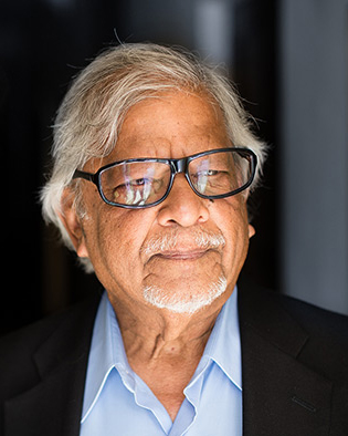 Arun Gandhi Author Portrait