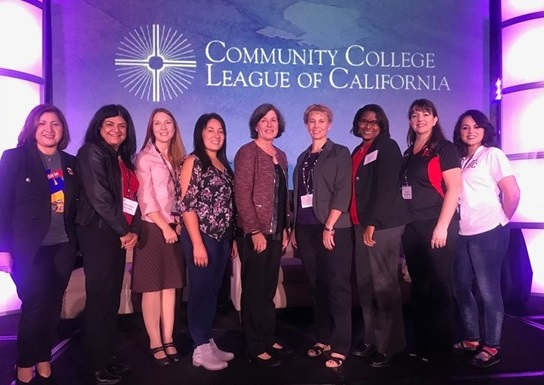 Team at the Community College League of California