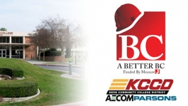 A Better BC funded by Measure J KCCD AECOMParsons logo