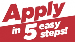 Apply in 5 easy steps