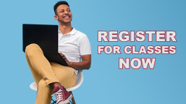 Register for Classes Now