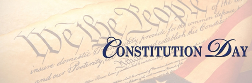 Illustration of the US Constitution