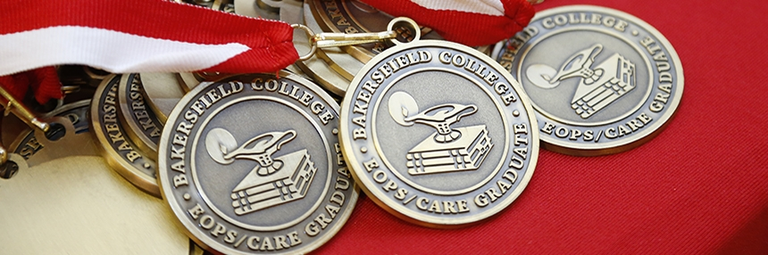 EOPS/CARE graduation medallions