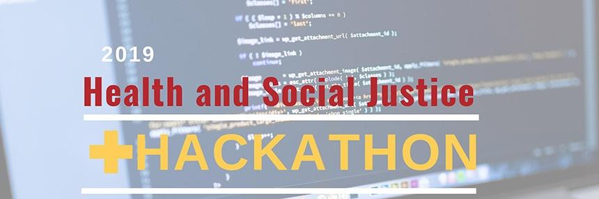 2019 Health and Social Justice Hackathon