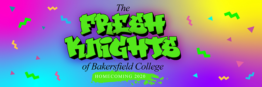The Fresh Knights of Bakersfield College Homecoming 2020.