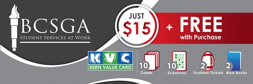 KVC Kern Value Card Discount Sticker; $15 saves $66.50+