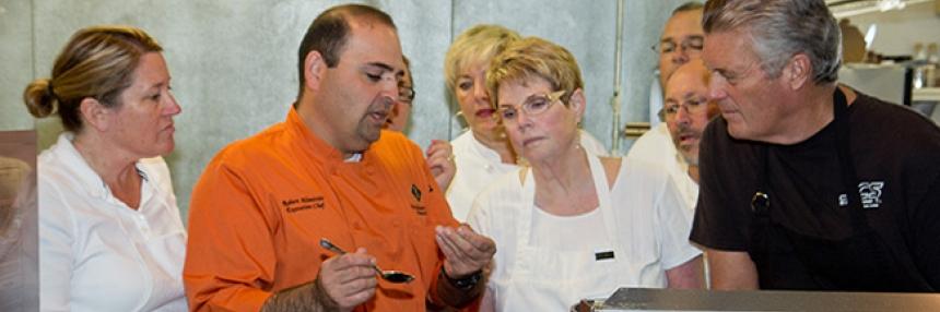 Levan institute cuisine course
