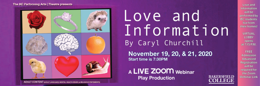 Love and Information Play Performance