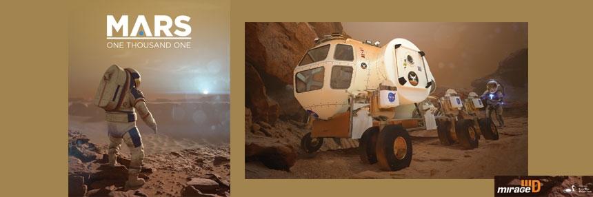 Mars One Thousand One