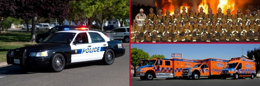 Police, fire, EMT, Public Safety Training Programs