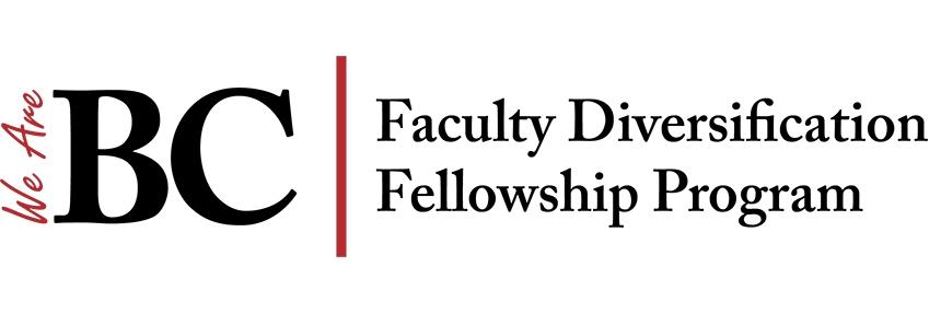 We Are BC Faculty Diversification Fellowship Program logo.