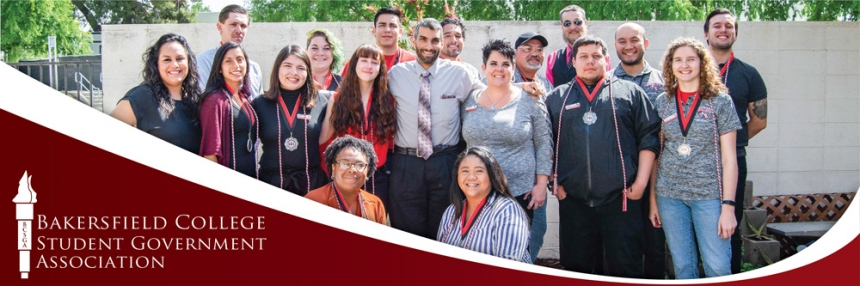 Bakersfield College Student Government Association group photo
