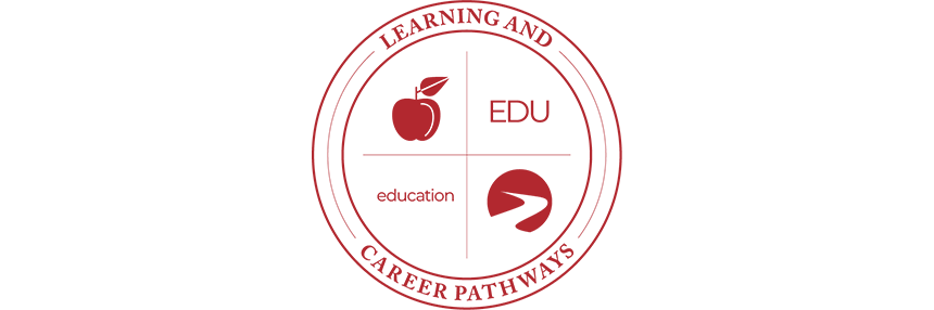 Learning & Career Pathways Education EDU, logo.