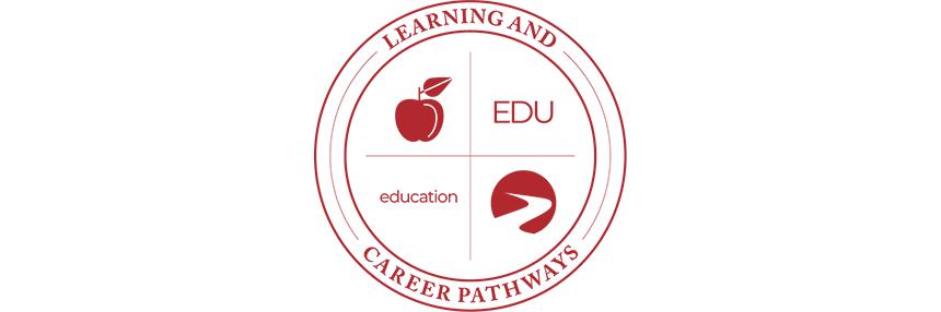Learning & Career Pathways Education EDU, logo.