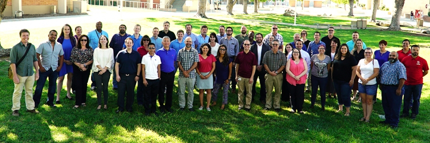 diverse collection of BC faculty