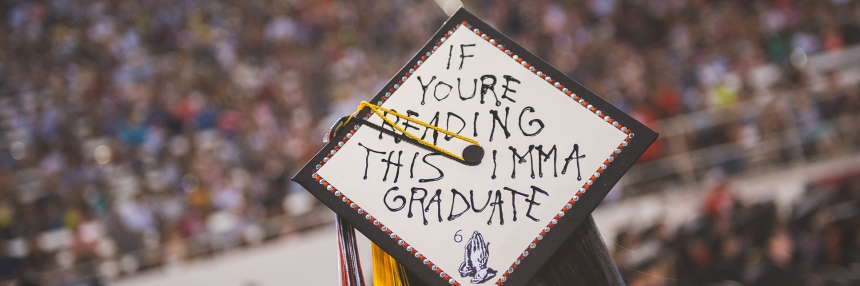 If youre reading this imma graduate