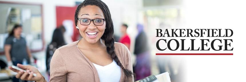 Student in campus center
