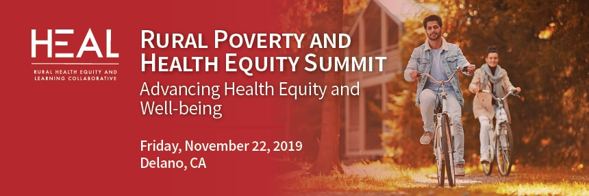 Rural Poverty and Health Equity Summit Advancing Health Equity and Well-being