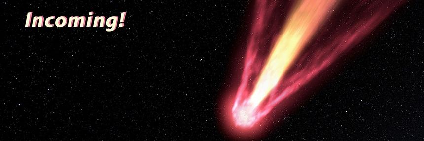 Incoming! At the Planetarium