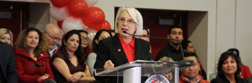 Jean Fuller speaking