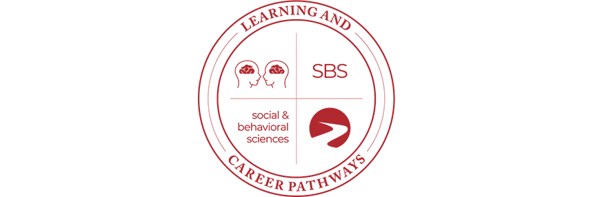 Learning & Career Pathways Social & Behavioral Sciences SBS, logo.