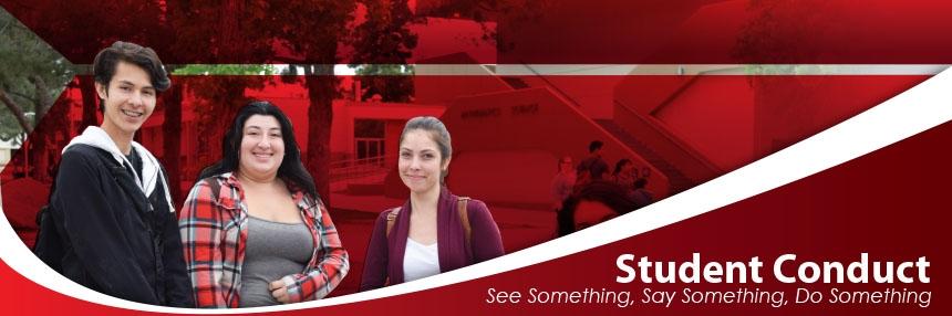 Student Conduct - See Something, Say Something, Do Something