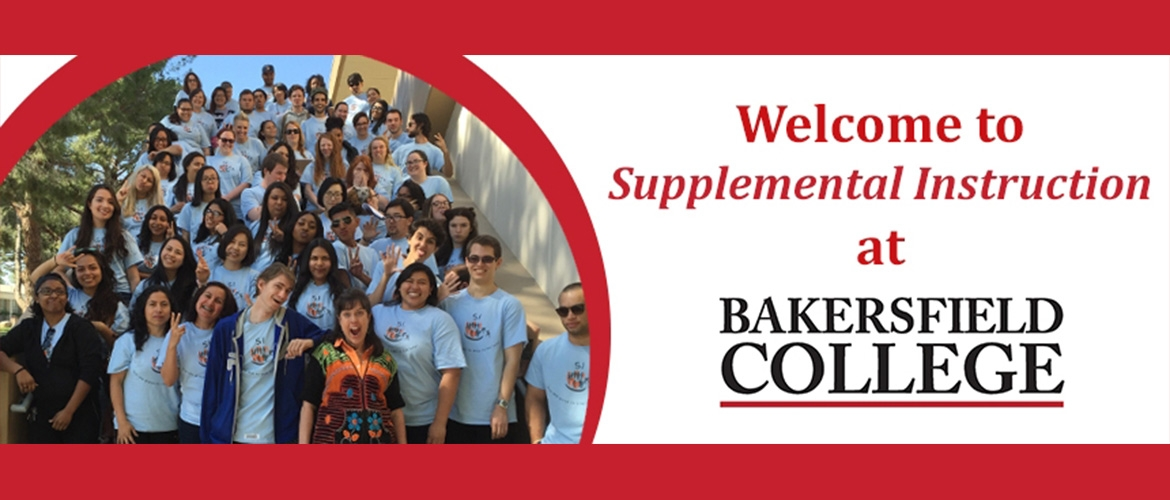 Welcome to Supplemental Instruction at Bakersfield College