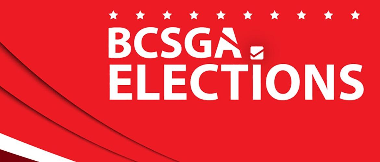 flyer for BCSGA Elections