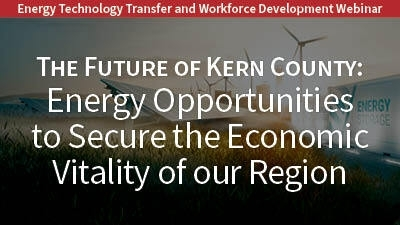 Energy Technology Transfer and Workforce Development Webinar