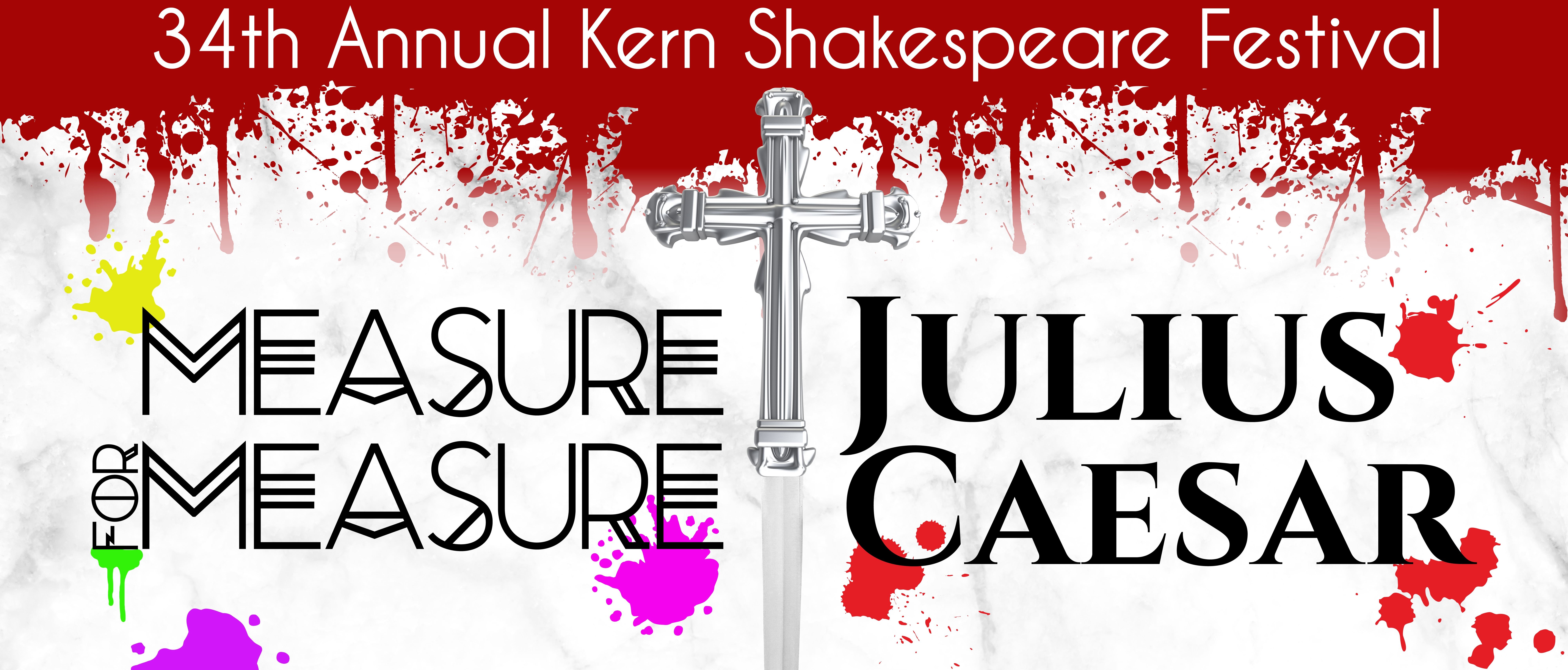 Two Plays Featured in the 34th Annual Kern Shakespeare Festival
