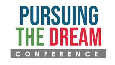 Pursuing the Dream Conference logo.