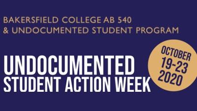 Undocumented Student Action Week Oct 19-23