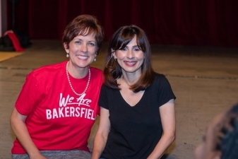 Cheryl Scott and Sonya Christian