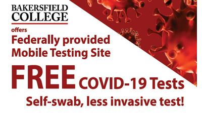 Free COVID-19 tests at BC on 10/2/20